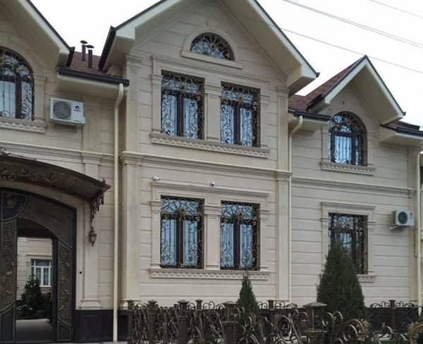 Штукатурка фасада дома цена работ